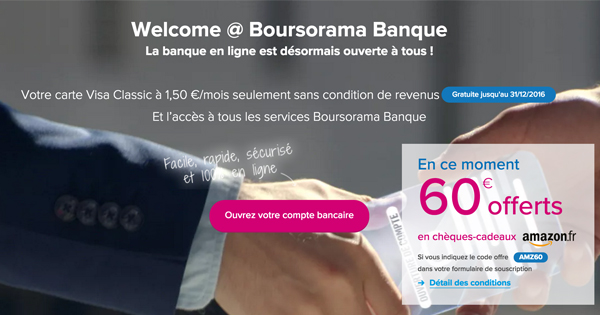 boursorama welcome